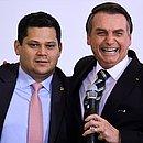Alcolumbre e Bolsonaro discutiram situação com empresários