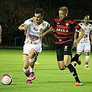 Danilinho enfrentou o Vitória no Barradão, na abertura do Campeonato Baiano