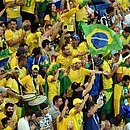 Torcida brasileira proferiu gritos homofóbicos na abertura da Copa América
