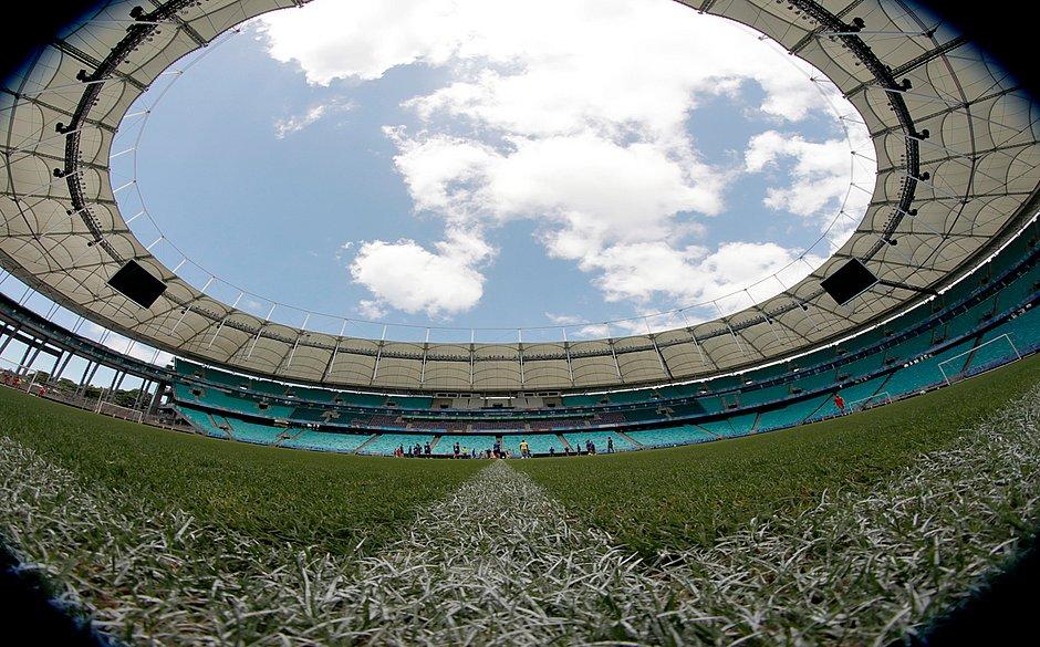 Fonte Nova recebe hoje o último jogo do Bahia em 2019
