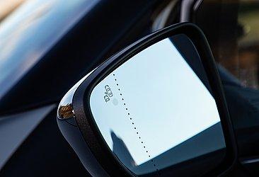 Na versão Iconic o alerta de ponto cego é um equipamento de série