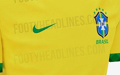 Vazam na web imagens da camisa da seleção para a Copa América