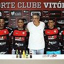 Romisson, Ítalo, Gabriel Bispo e Van são quatro dos 15 contratados na gestão de Paulo Carneiro