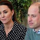O príncipe William e Kate Middleton