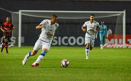 Vitória tomou gol do CSA aos 44 minutos da etapa final