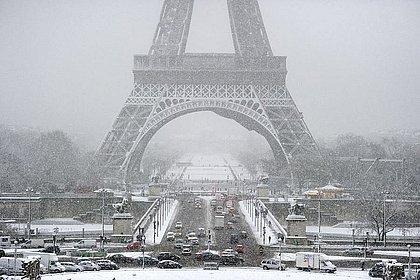 Onda de frio na França já deixou dois mortos