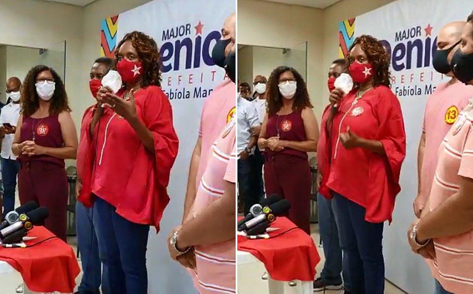 Major Denice reconhece derrota e parabeniza Bruno Reis, futuro prefeito de Salvador