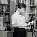 Martim Gonçalves na Biblioteca da Escola de Teatro da UFBA, em 1958