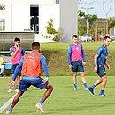 Elenco do Bahia fechou preparação para enfrentar o Independiente
