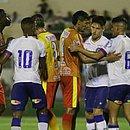Camisa 10 do Bahia, Ramon balançou as redes em sua estreia pelo Tricolor