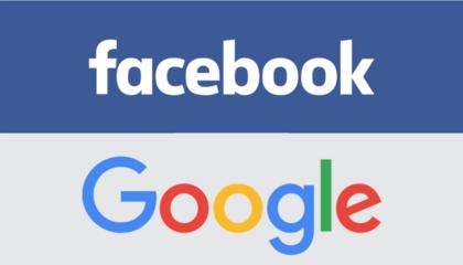 Google e Facebook combinam aliança contra possível ação judicial nos EUA