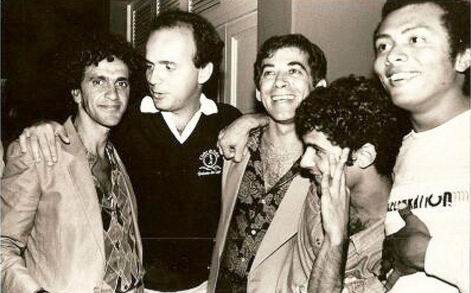 Os bastidores da festa dos 40 anos de Caetano Veloso, quando ele conheceu Paula Lavigne