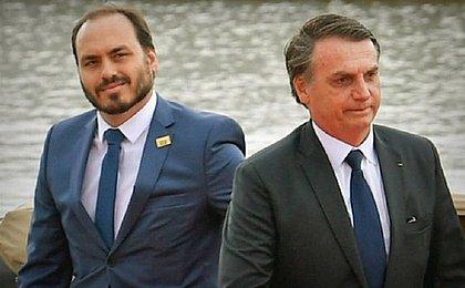 Carlos fica chateado após ver mensagens pedindo morte de Bolsonaro: 'Não terão êxito'