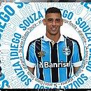 Diego Souza é anunciado pelo Grêmio