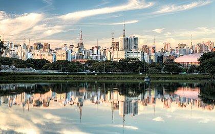 Parque do Ibirapuera, em São Paulo