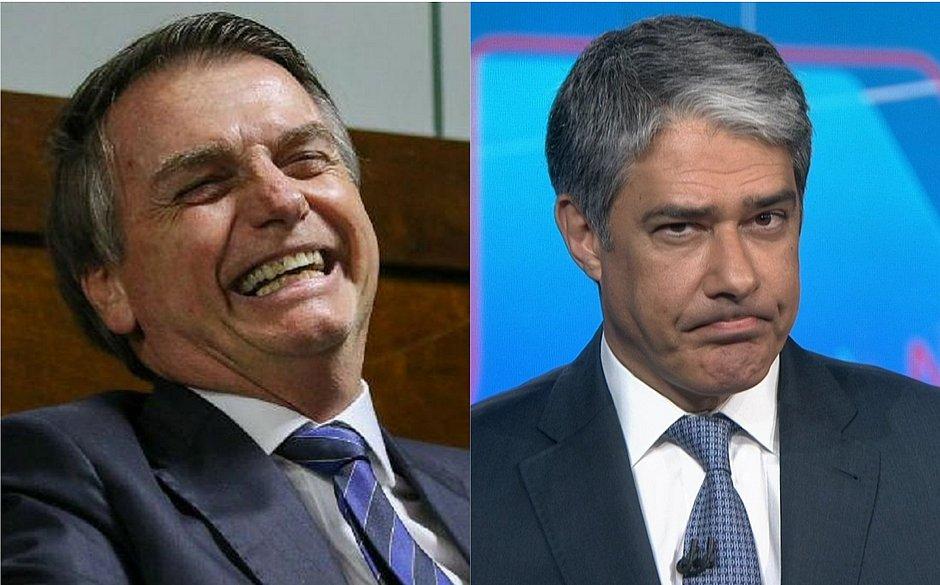 Brasileiro confia mais em Bolsonaro que em Bonner, diz pesquisa