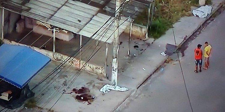 Polícia investiga chacina com 9 mortos no Rio de Janeiro