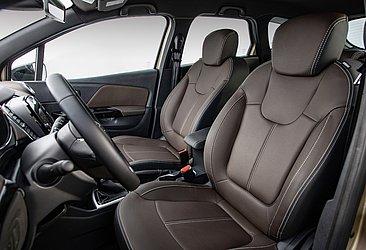 Todas as configurações contam com quatro airbags