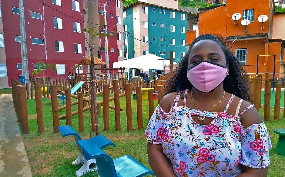 Carla Verônica, 28 anos, relembrou os momentos de desespero