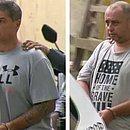 À esquerda, Ronnie Lessa; à direita, Élcio Queiroz