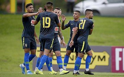 Brasil sub-23 ganha por 7x0 em último teste antes do Pré-Olímpico