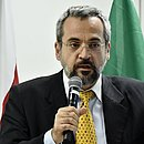 O novo ministro da Educação, Abraham Weintraub, durante evento do governo de transição, em dezembro de 2018