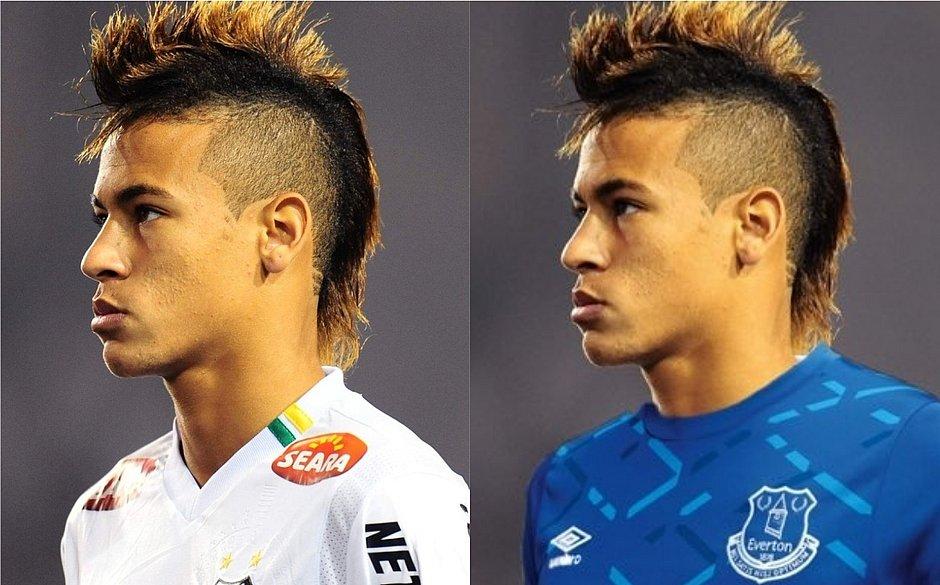 O retorno do moicano: após campanha de fãs, Neymar vai voltar a usar penteado