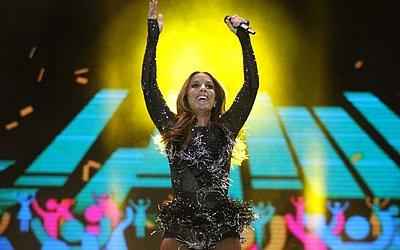 No repertório de 2015, ela tocou músicas do álbum Multishow ao vivo - Ivete Sangalo, 20 anos. Entre as mais conhecidas Dançando, Pra Frente e Beleza Rara. Cantou ainda Tempo de Alegria, Olodum e Flor do Reggae