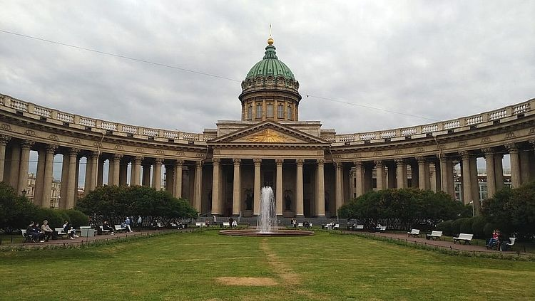 Em São Petersburgo, a luz do dia não acaba nesta época do ano