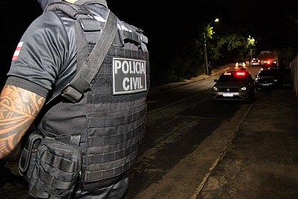 Policiais conseguem impedir roubo a agência em Amélia Rodrigues (Foto: Divulgação/Polícia Civil)