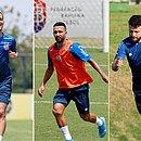 Rodriguinho, Clayson e Rossi não conseguiram se firmar no Bahia e vão encerrar temporada em baixa