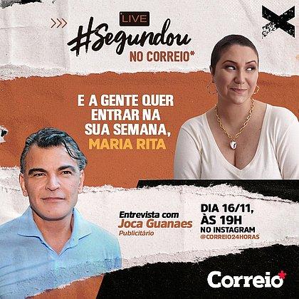 Cantora Maria Rita é a convidada da live Segundou