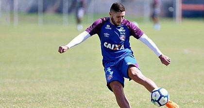Camisa 10, Zé rafael é uma das esperanças do Bahia no duelo contra o Palmeiras