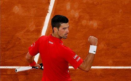 Djokovic faturou sua 35ª vitória na temporada