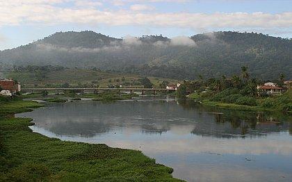 Rio na cidade de Ipiaú, no Sul do estado, uma das cidades incluídas no novo mapa do MTur