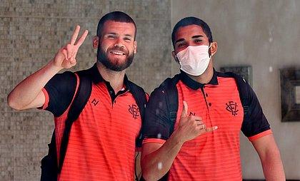 O zagueiro Marcelo Alves e o goleiro Lucas Arcanjo vão encarar o 4 de Julho