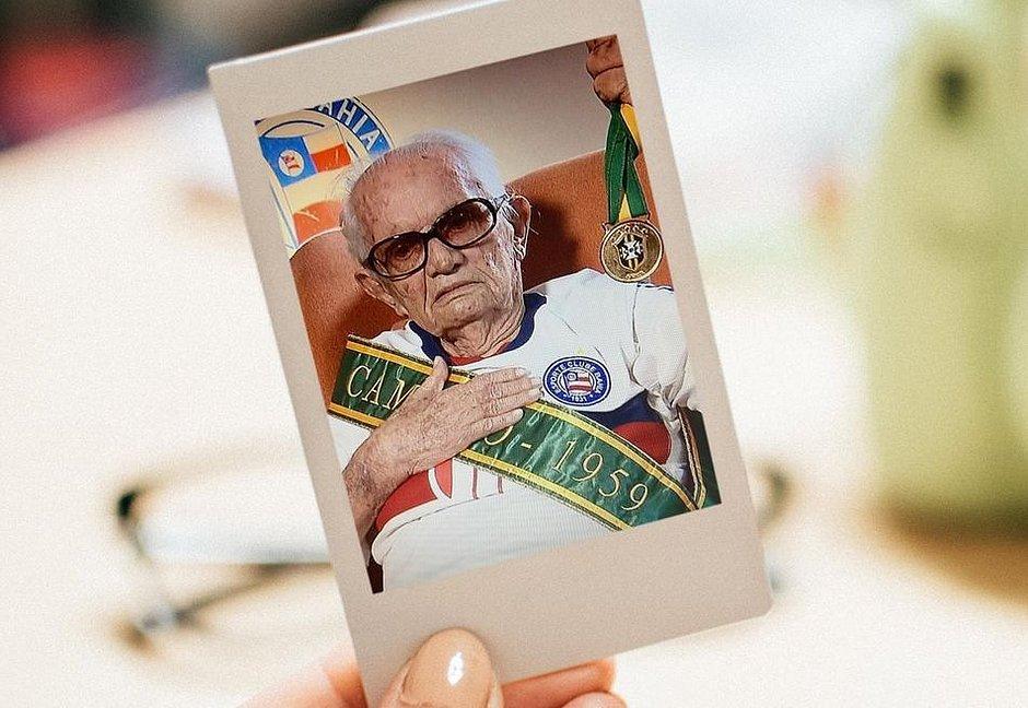 Ex-dirigente do Bahia, Benedito Borges de Melo morre aos 96 em Salvador