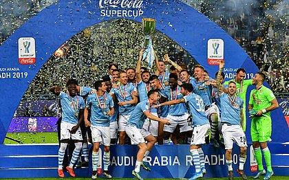 Lazio vence a Juventus e fatura a Supercopa da Itália pela 5ª vez