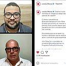 Donaldson Gomes em conversa com Júlio Ribas