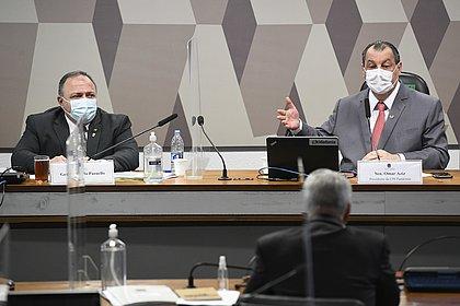 Aziz vê Pazuello como 'um forte candidato' a indiciamento