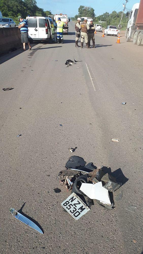 Motociclista morre após colisão na BA-093, em Camaçari 2