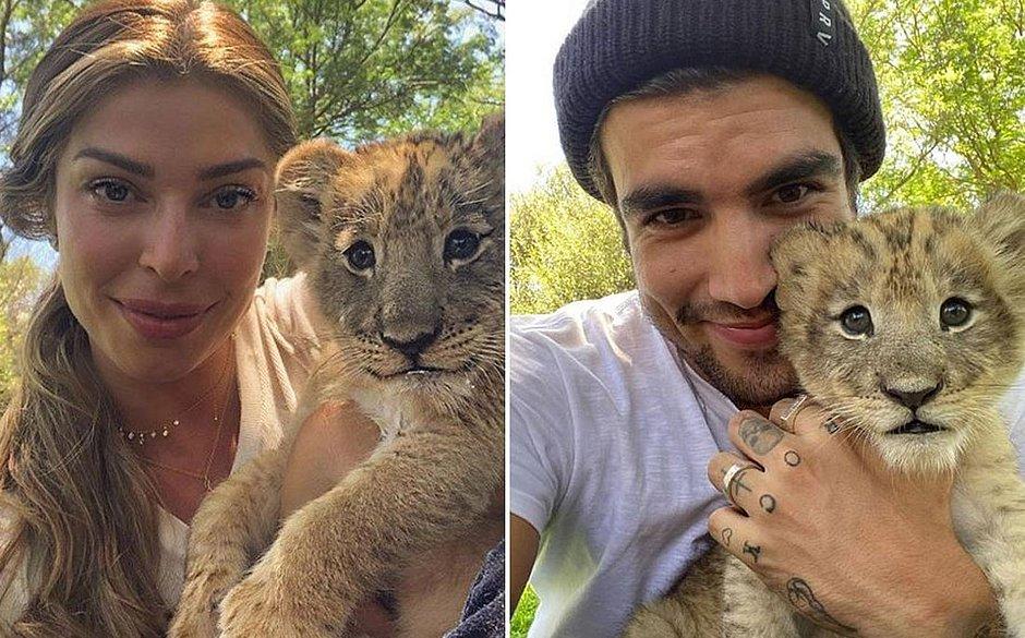 Luisa Mell detona Grazi e Caio Castro por fotos com filhotes