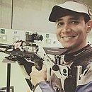 Jefferson Portela vai representar a seleção brasileira de tiro esportivo no Pan