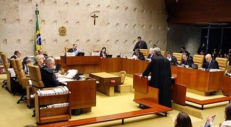 Sessão plenária do Supremo Tribunal Federal, em Brasília