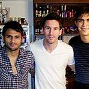 Maxi, Messi e Emanuel são primos: só um nunca jogou em Salvador