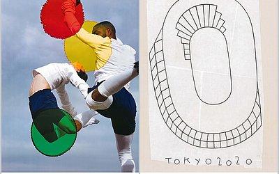 Artes de Viviane Sassen e Philippe Weisbecker para os Jogos Olímpicos de Tóquio-2020
