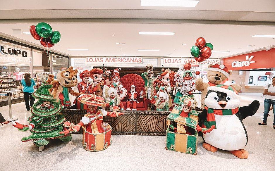 A Parada Encantadase tornoumarca registrada do Natal noBarra