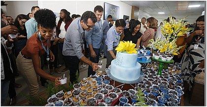 Celebração marca os 35 anos da TV Bahia