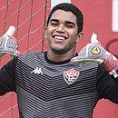 O goleiro Lucas Arcanjo, de 21 anos, é um dos jogadores revelados nas categorias de base da Toca do Leão
