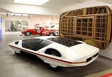 A Ferrari projetou um modelo esquisito, mas o veículo não foi produzido